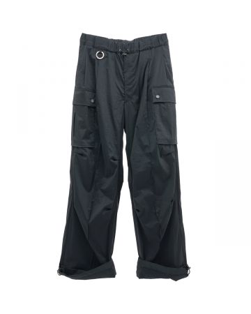 th products NERDRUM CARGO PANTS / BLACK