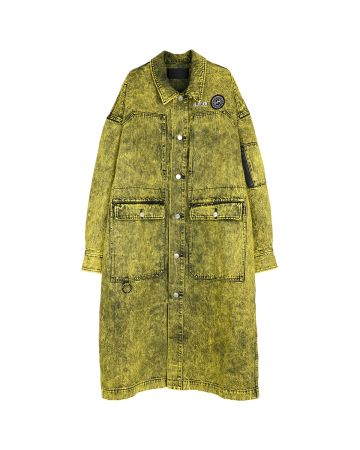 th products WORK COAT / BLEACHED YELLOW