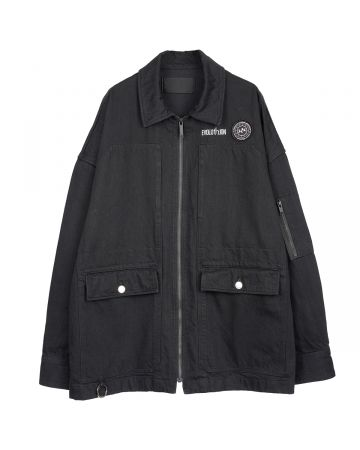 th products WORK BLOUSON / BLACK
