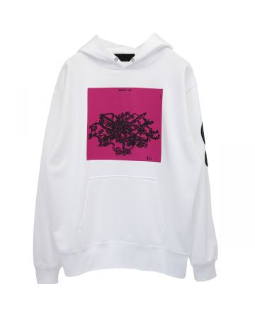 th products HOODIE CHANDELIER / WHITE