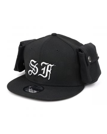 TOMBOGO CARGO CAP CITY PATCH SF / BLACK