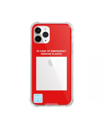 URBAN SOPHISTICATION IN CASE OF EMERGENCY iPhone CASES / CLEAR
