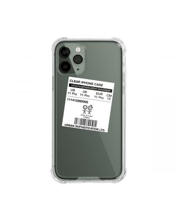 URBAN SOPHISTICATION SIZE DOESN'T MATTER iPhone CASES / CLEAR