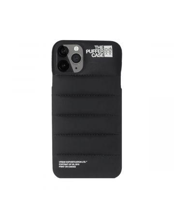 URBAN SOPHISTICATION PUFFER iPhone CASES / BLACK