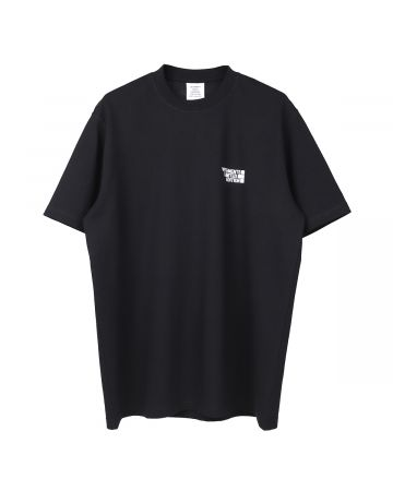 VETEMENTS LOGO LIMITED EDITION T-SHIRT / BLACK