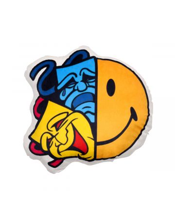 MADD LOUNGE TWO FACE INSIDE TWO FACE PILLOW / MULTI