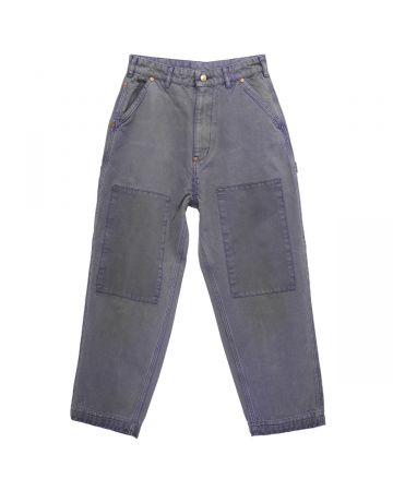 VYNER ARTICLES HAMMER PANTS SATIN PATCHES / 7000 : WORKER PURPLE