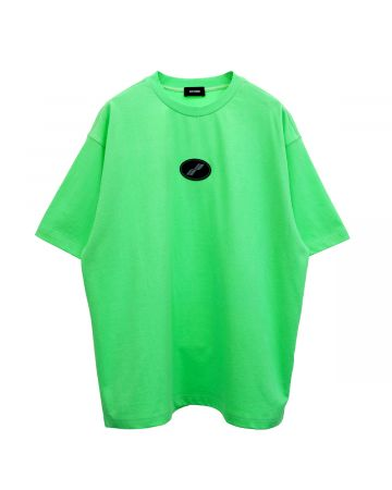 WE11DONE DIRTY TEE / GREEN