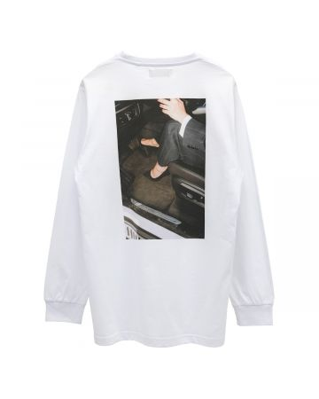 "WHITEHOUSE3000 ""JENNIFER 1"" LONGSLEEVE / WHITE"