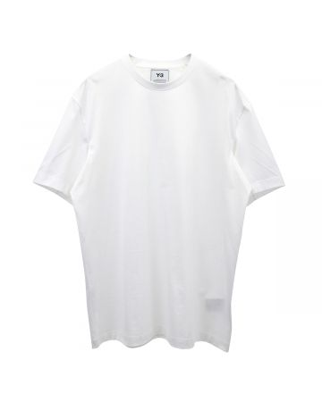 Y-3 M BACK LOGO SS TEE / CORE WHITE