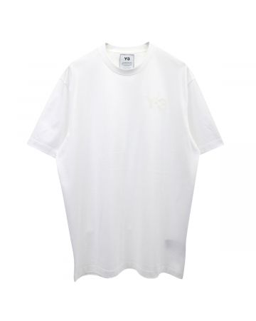Y-3 M CLASSIC CHEST LOGO SS TEE / CORE WHITE