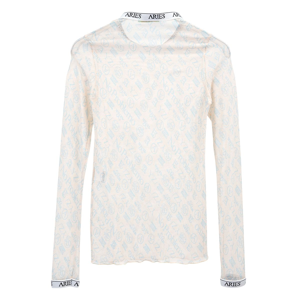 Aries MONOGRAM LS MESH TOP / PINK