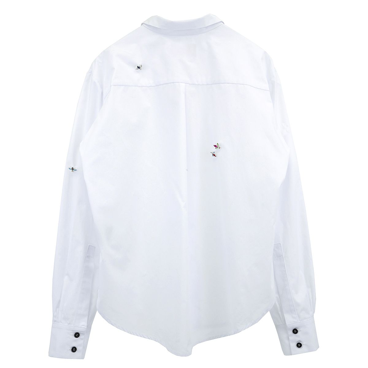 ART SCHOOL FLY HUNTER SHIRT SKEW 2 / WHITE