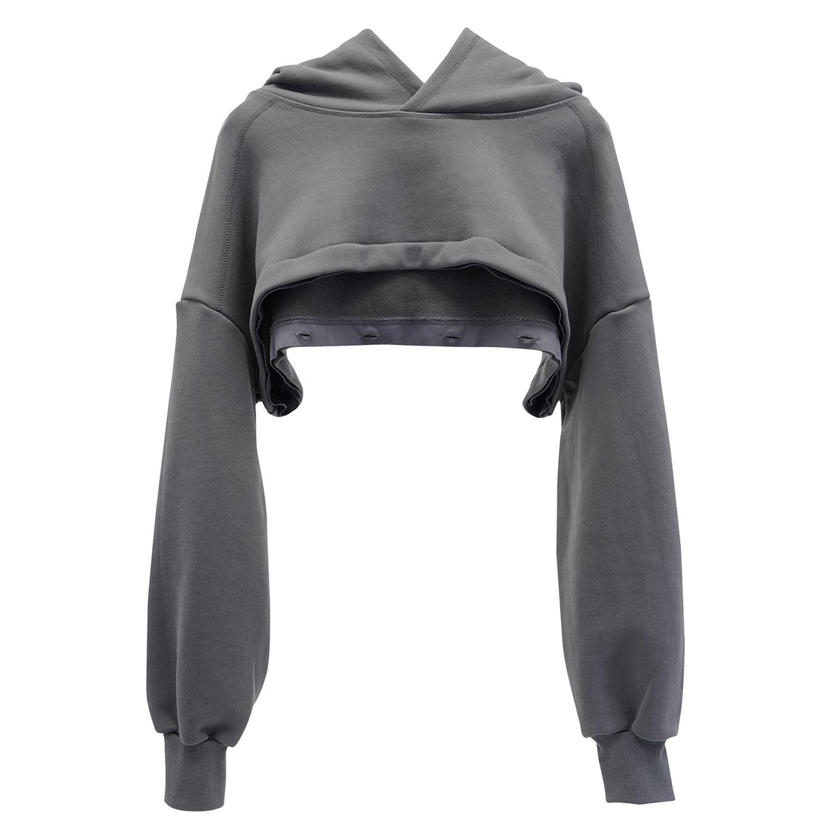 SANS PRODUCT 001 HOODIE / CHARCOAL