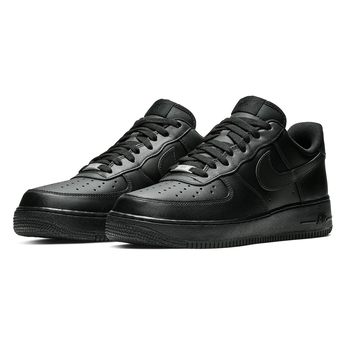 NIKE AIR FORCE 1 '07 / 001:BLACK-BLACK