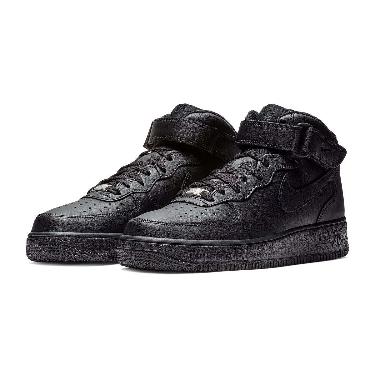 NIKE AIR FORCE 1 MID '07 / 001:BLACK-BLACK