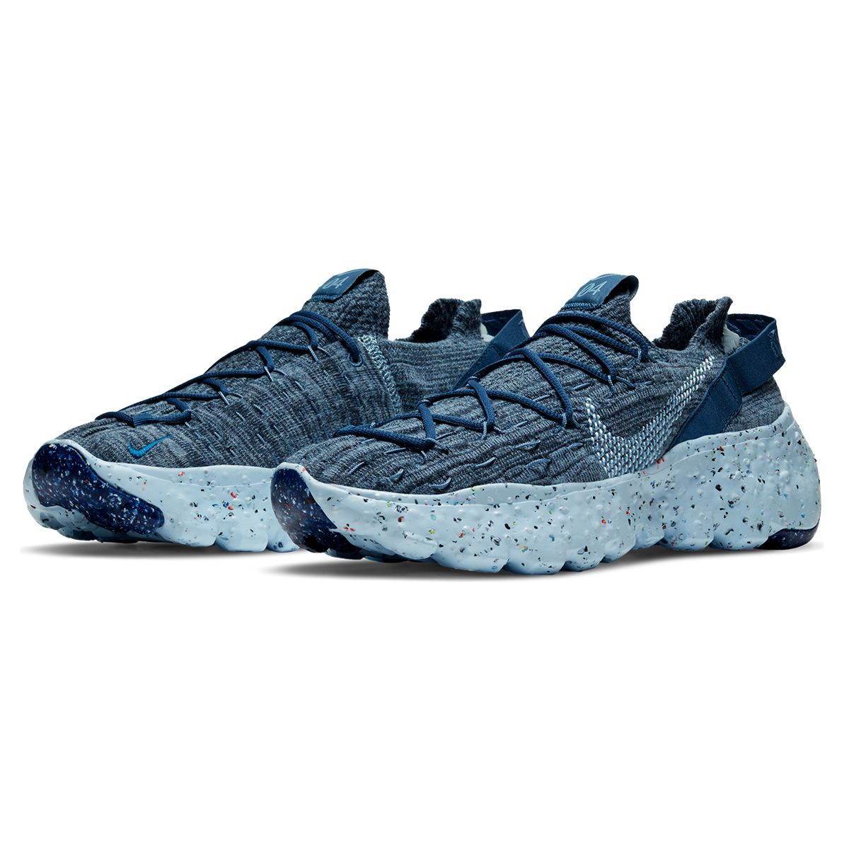 NIKE SPACE HIPPIE 04 / 400 : MYSTIC NAVY/CHAMBRAY BLUE