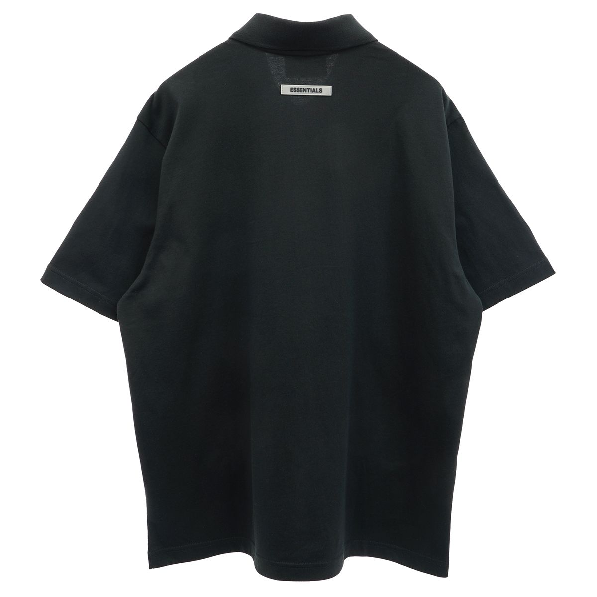 ESSENTIALS HO20 S/S POLO / 001 : BLACK