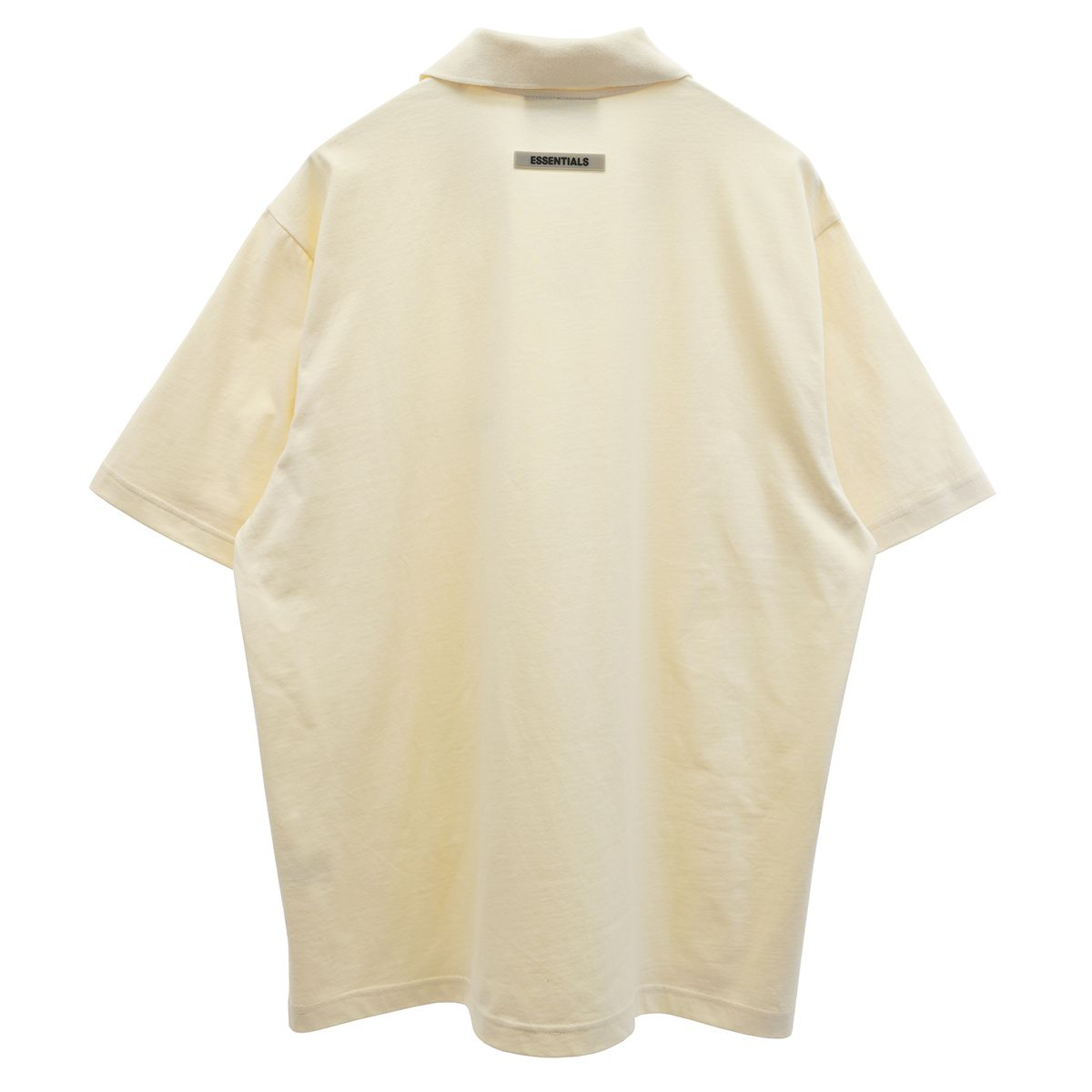 ESSENTIALS HO20 S/S POLO / 569 : CREAM