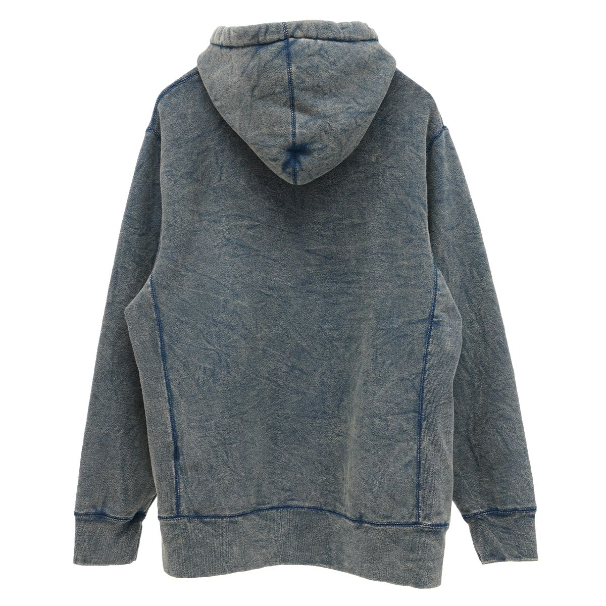 FUCKING AWESOME METAL FACE HOODIE / MINERAL NAVY