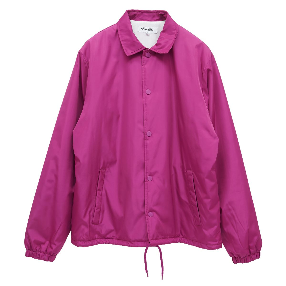 FUCKING AWESOME REDEMPTION COACHES JACKET / BERRY
