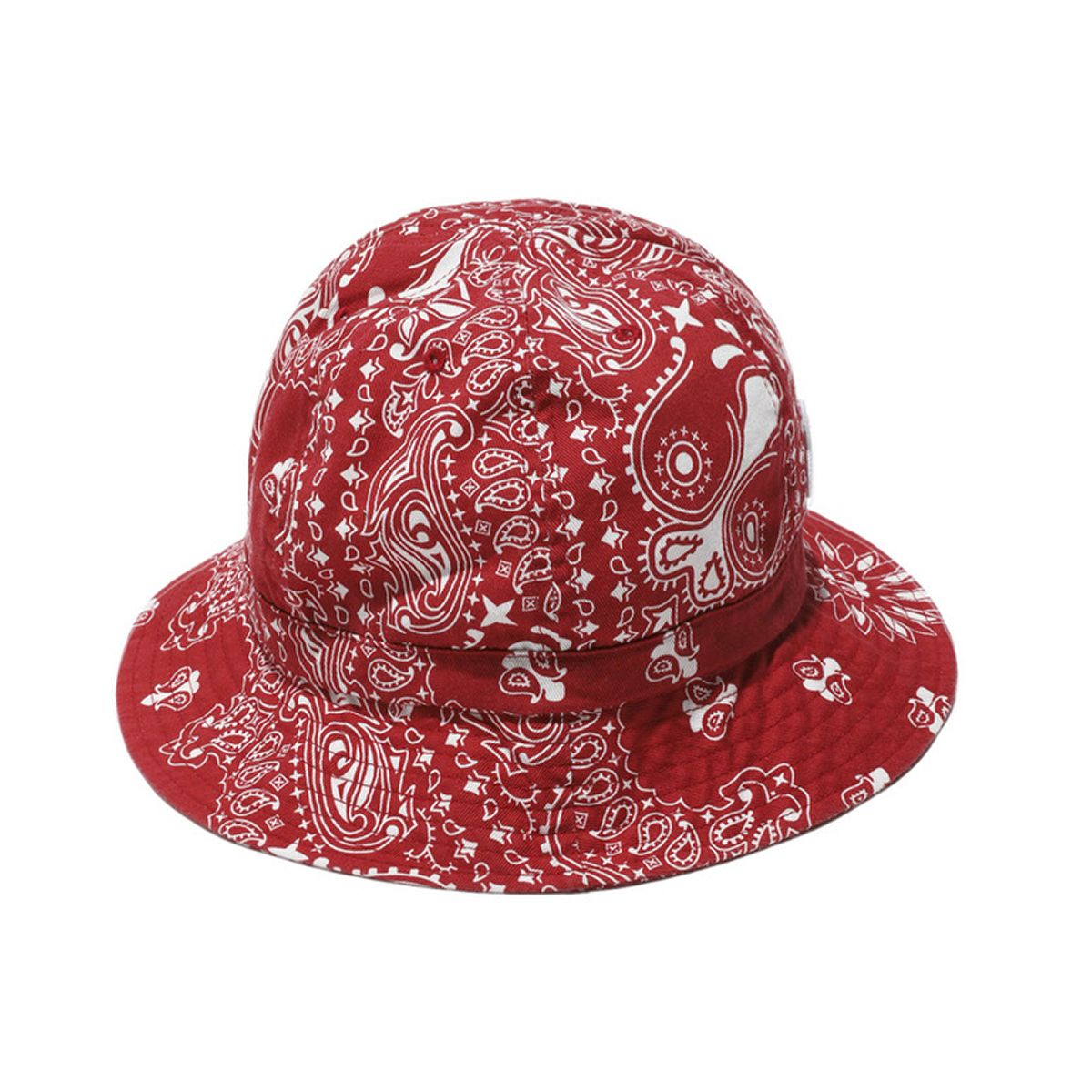 #FR2 PAISLEY BUCKET HAT / 241 : RED