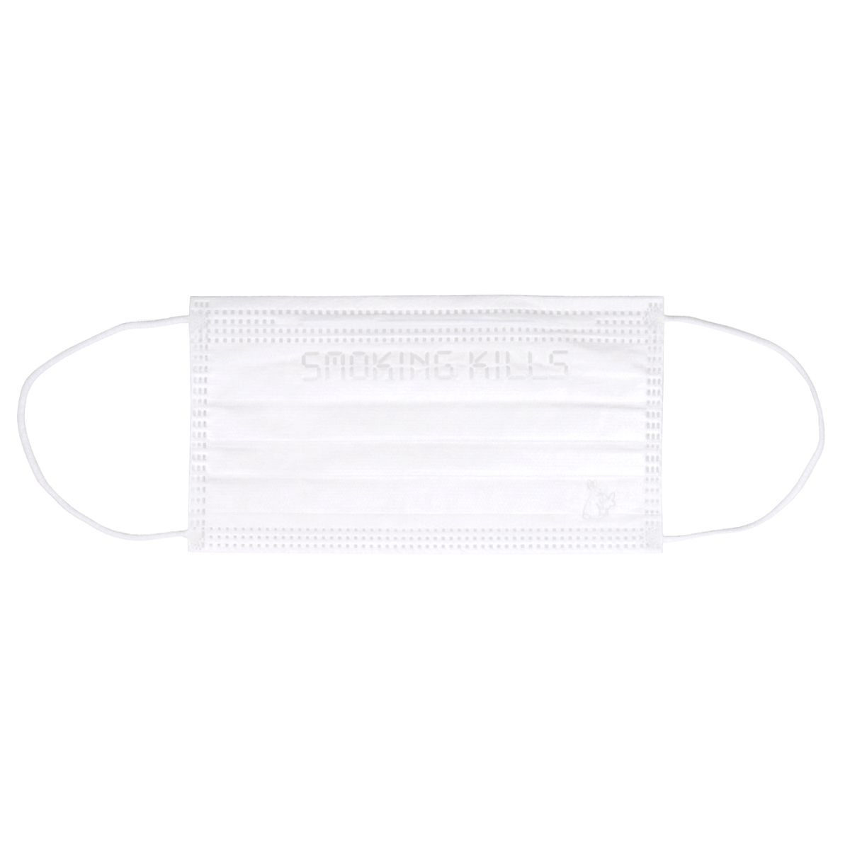 #FR2 PLEATED FACE MASK (10 PIECES SET) / 001 : WHITE
