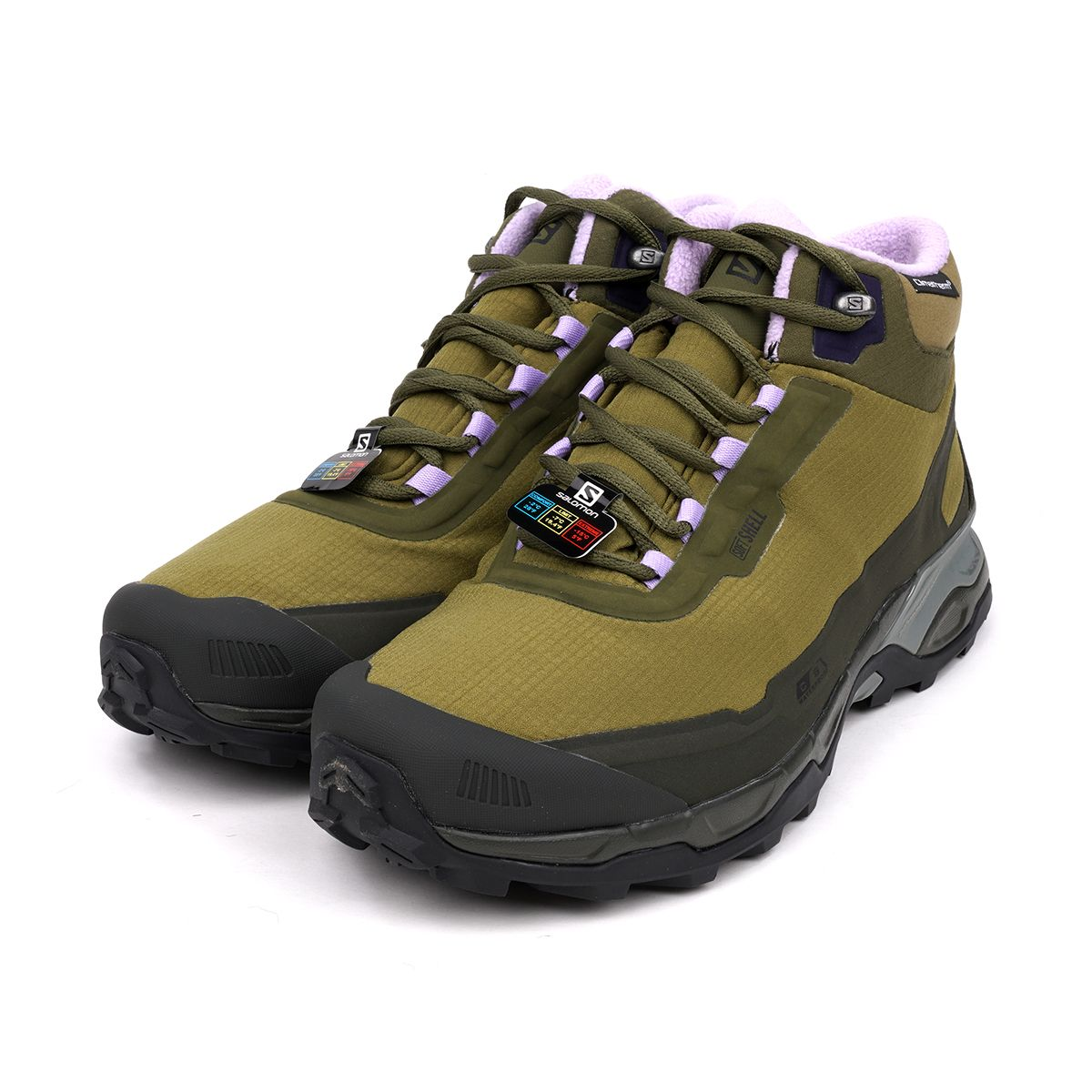 BETTER GIFT SHOP x SALOMON FOOTWEAR SHELTER CSWP FOR BETTER / MARTINI OLIVE-OLIVE NIGHT-LAVENDER