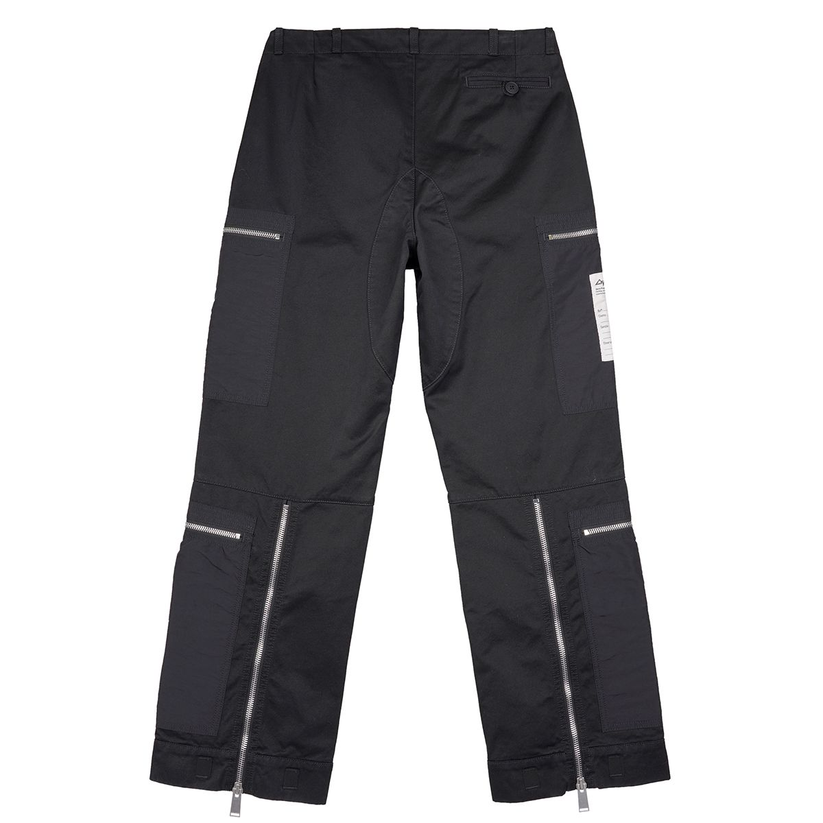 HERON PRESTON MILITARY COTTON NYLON PANTS / 1000 : BLACK NO COLOR