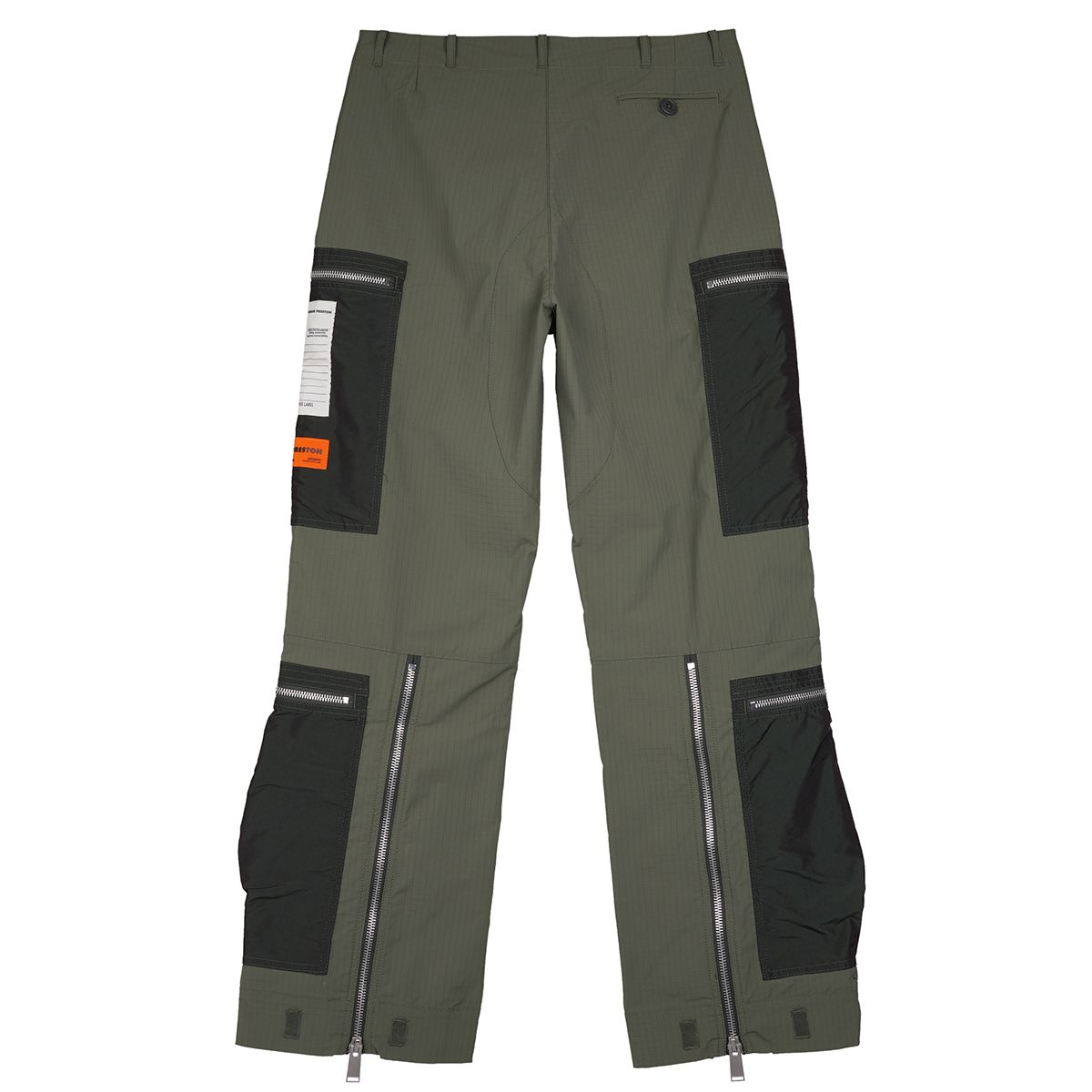 HERON PRESTON RIPSTOP MILITARY PANTS AP / 5500 : DARK OLIVE NO COLOR