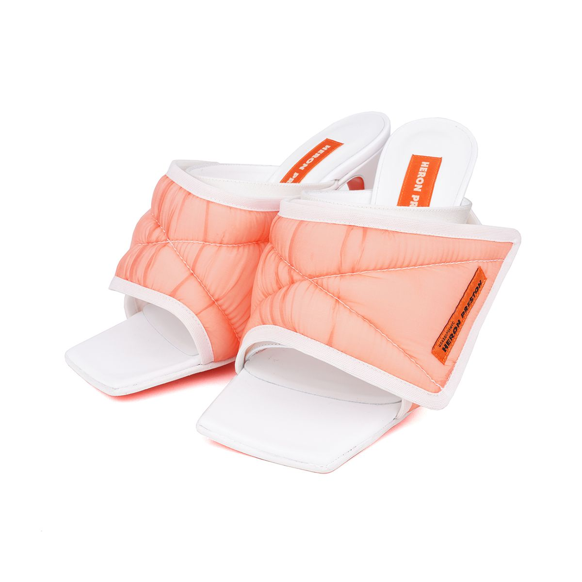 HERON PRESTON ORGANZA MULE / 1900 : ORANGE NO COLOR