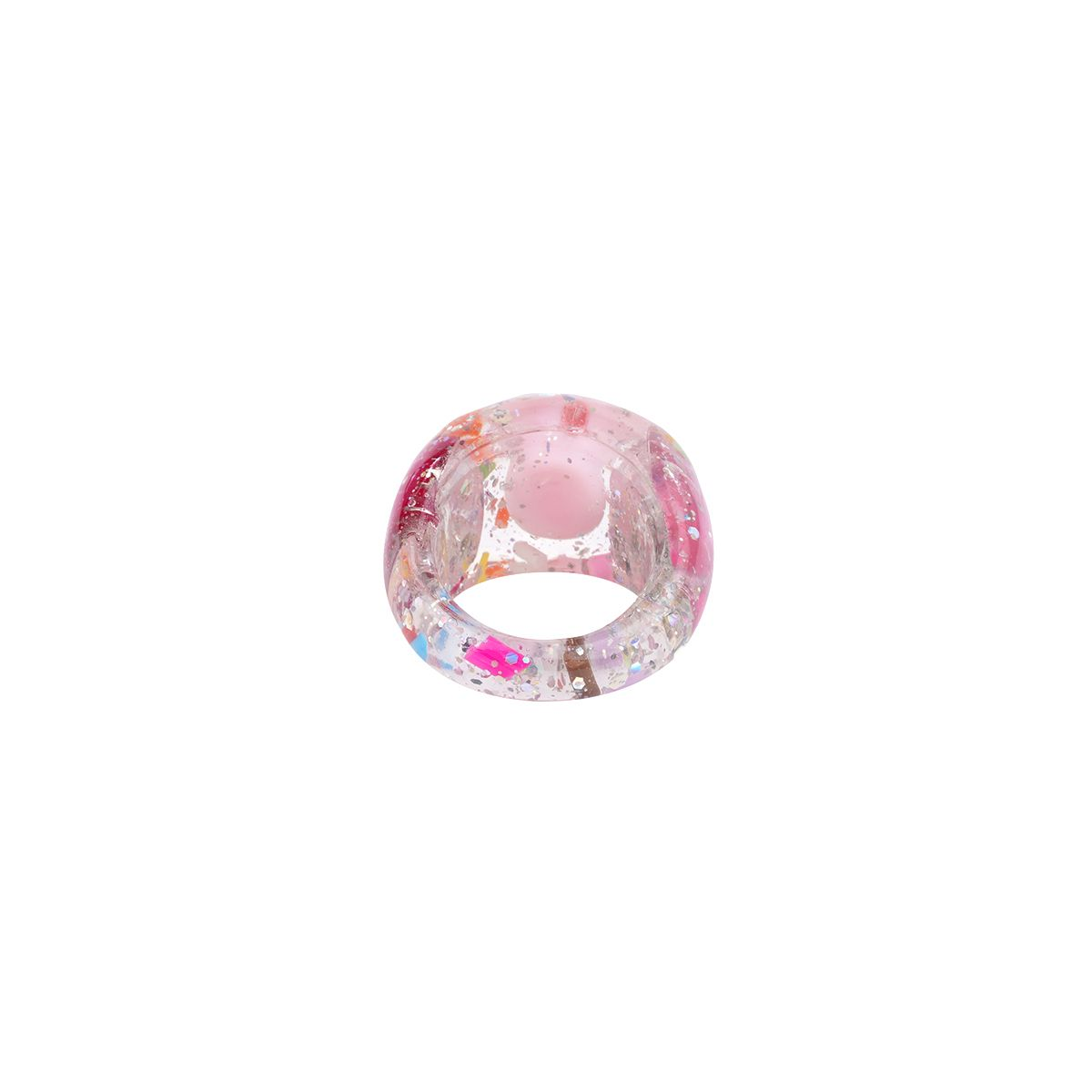 HURJABOYACC SMILE RING / PINK