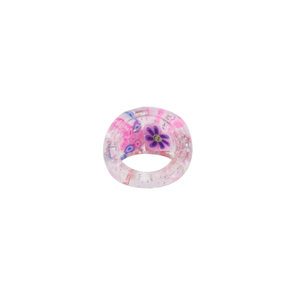 HURJABOYACC TWO HEARTS RING / PINK
