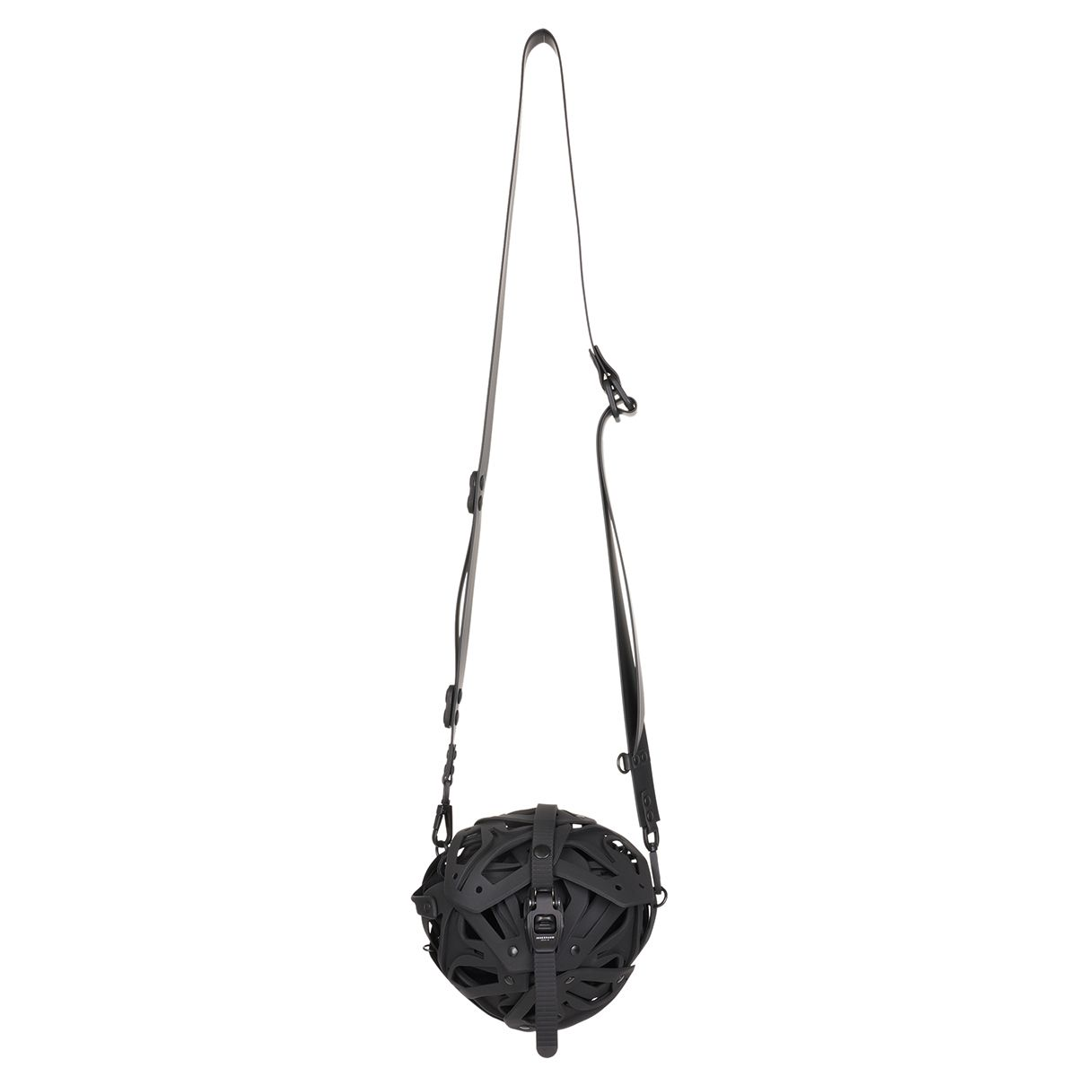 INNERRAUM I36_SMALL BALL BAG_PV / BLACK-BLACK