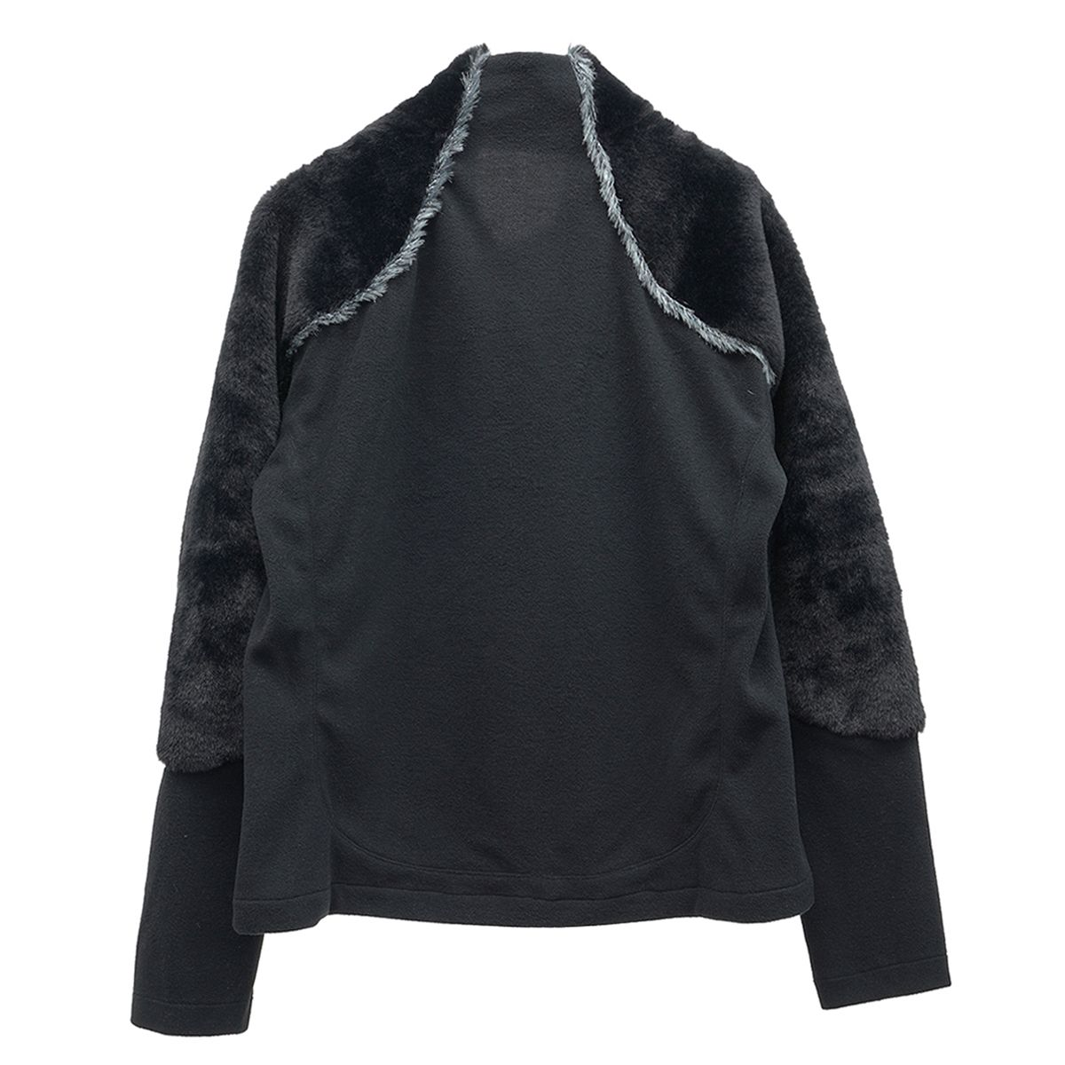 Jichoi FLEECE DUAL ZIP JACKET / BLACK