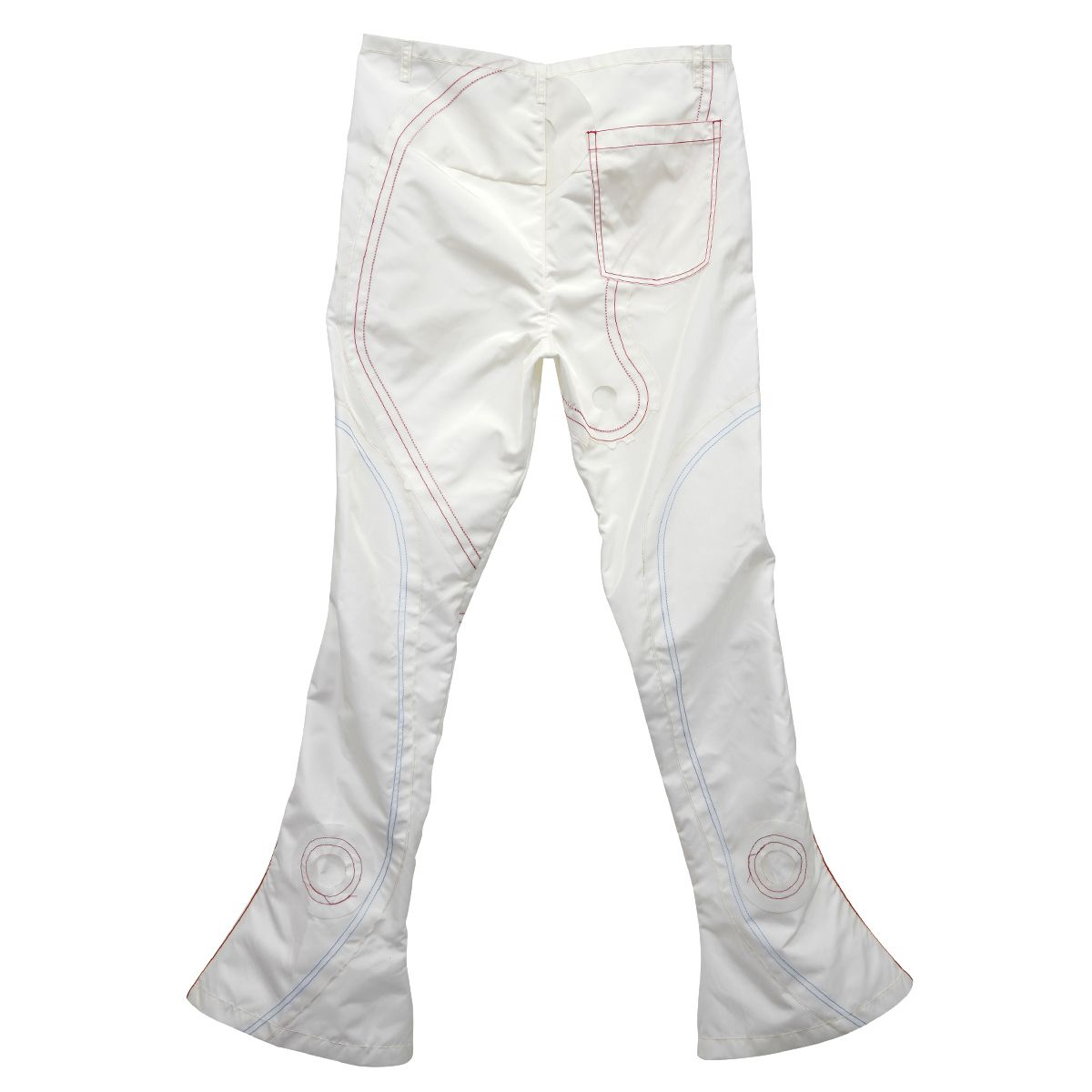 KANGHYUK READYMADE AIRBAG PATCHED FLARE TROUSER 1 / OFF WHITE