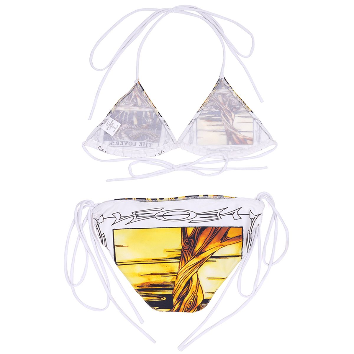 LĒO MAG MELL/BIKINI W.TAROT PRINT / THE LOVERS