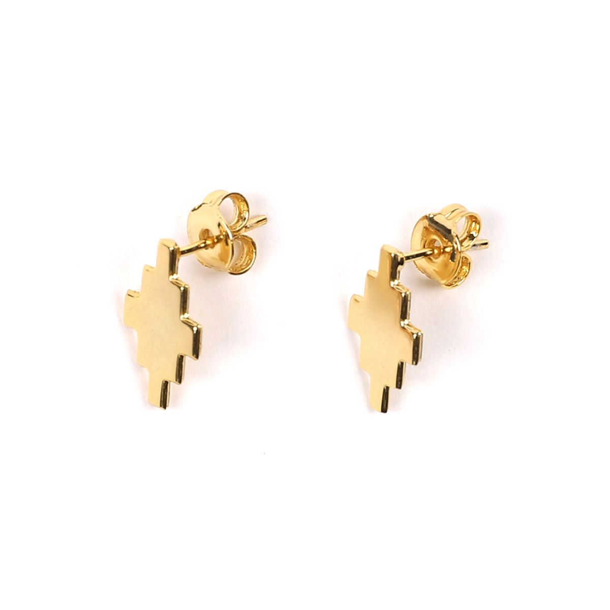 MARCELO BURLON CROSS EARRINGS / 7600 : GOLD NO COLOR