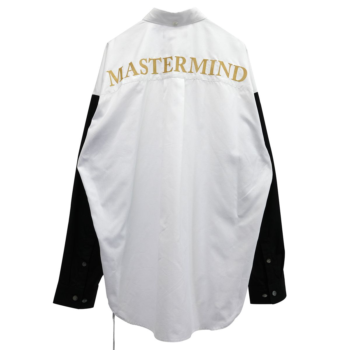 MASTERMIND WORLD SH002 / 201 : WHITE-BLACK