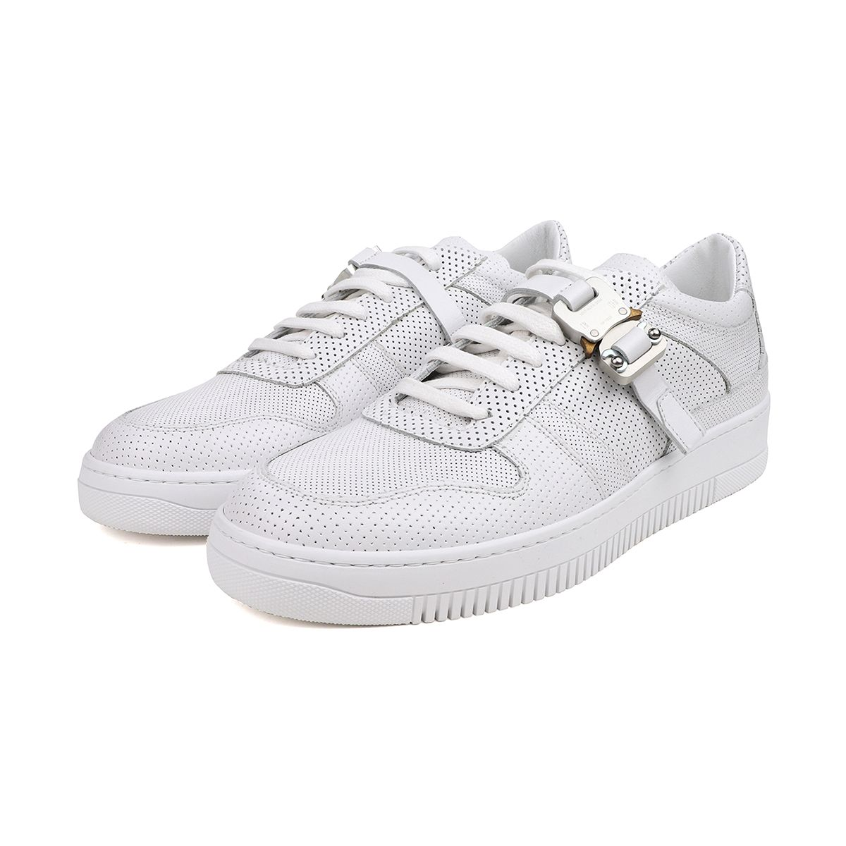 1017 ALYX 9SM BUCKLE LOW TRAINER / WTH0001 : WHITE