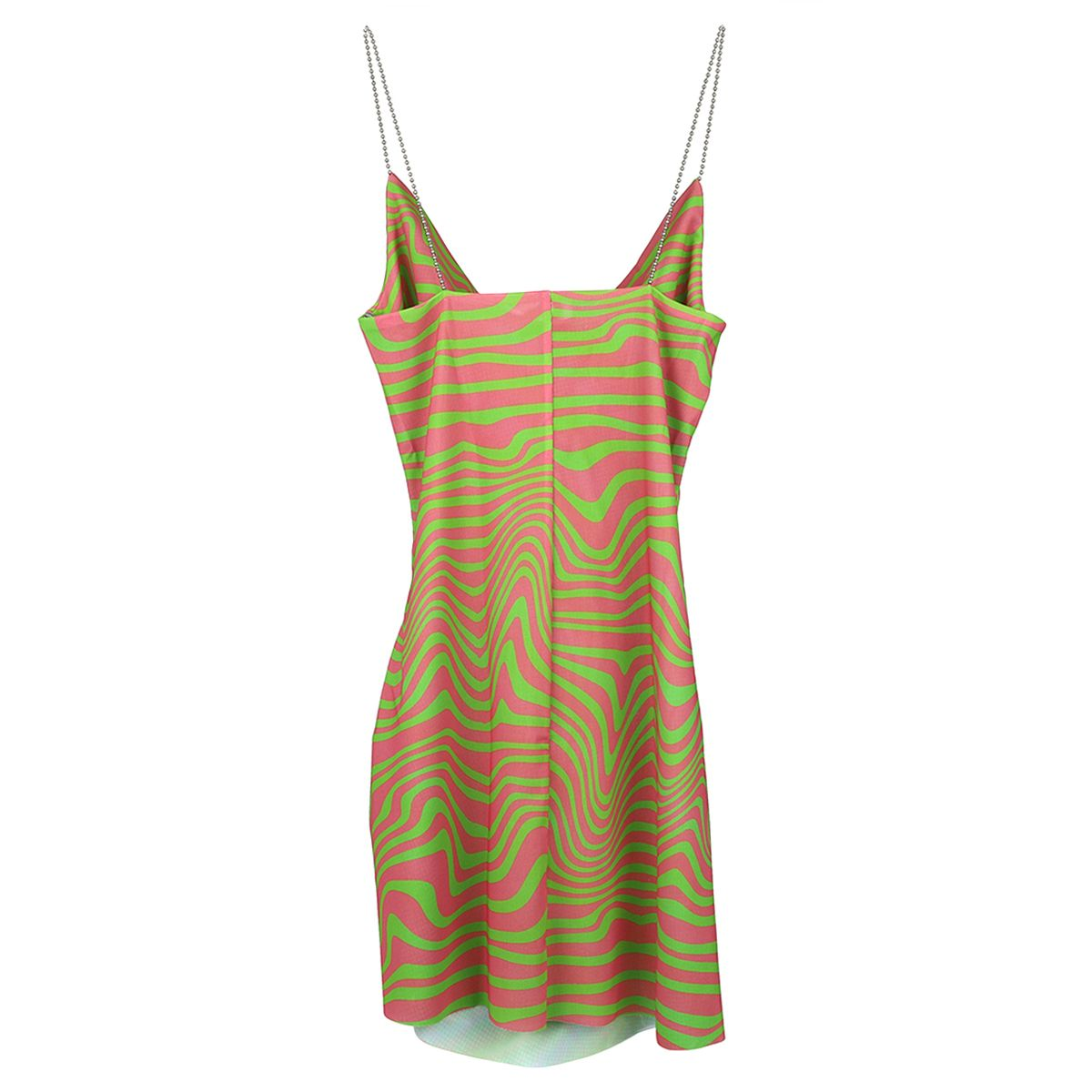 MAISIE WILEN TANK DRESS / PINK-GREEN