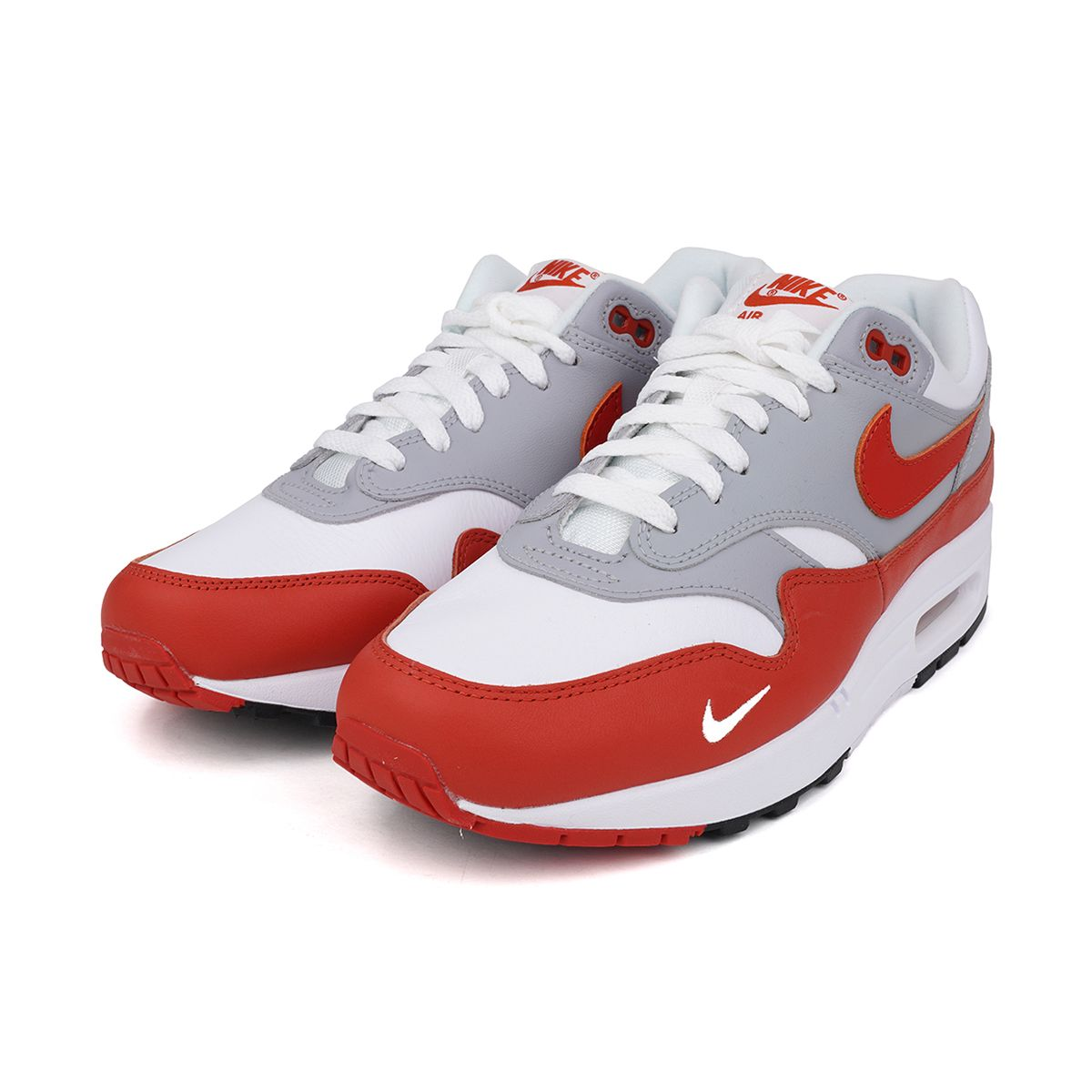 NIKE AIR MAX 1 LV8 / 102 : WHITE/MARTIAN SUNRISE