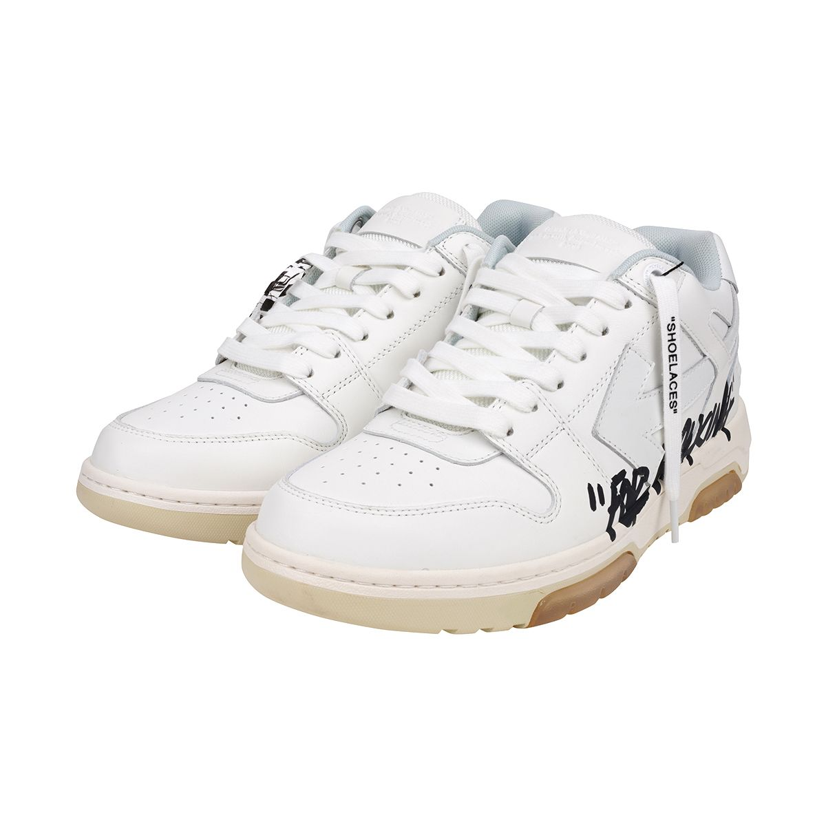 OFF-WHITE c/o Virgil Abloh MENS OUF OF OFFICE CALF SPECIALS / 0101 : WHITE WHITE