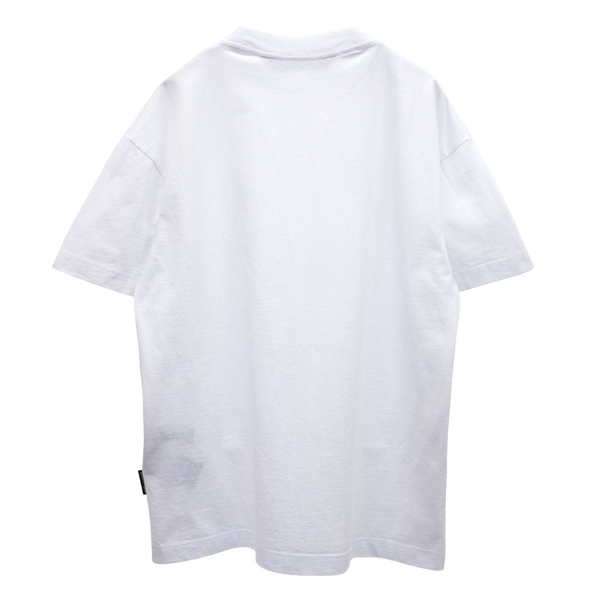 Palm Angels STATEMENT LOGO TEE / 0110 : WHITE BLACK