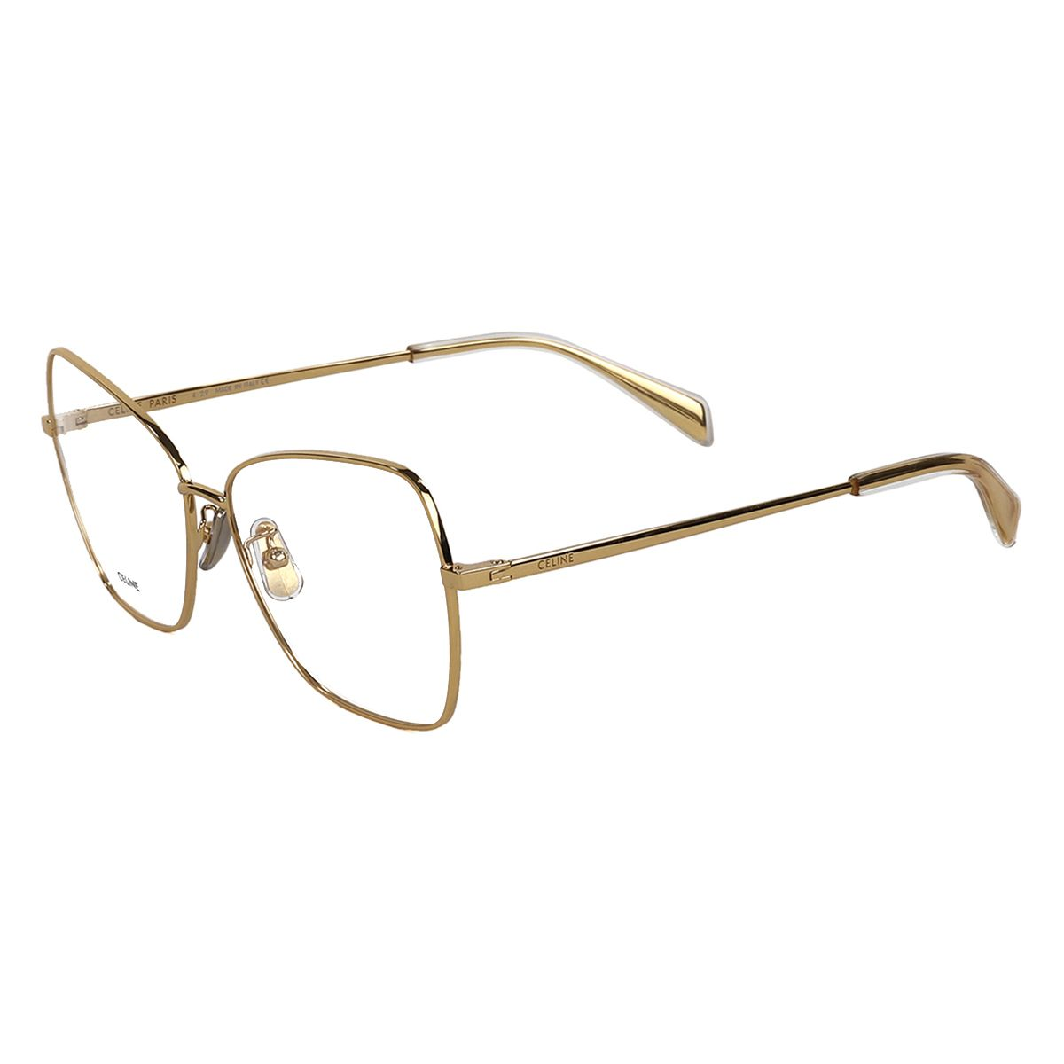 CELINE FRAMES/3KITCLSMALR02 / GOLD(CLEAR)