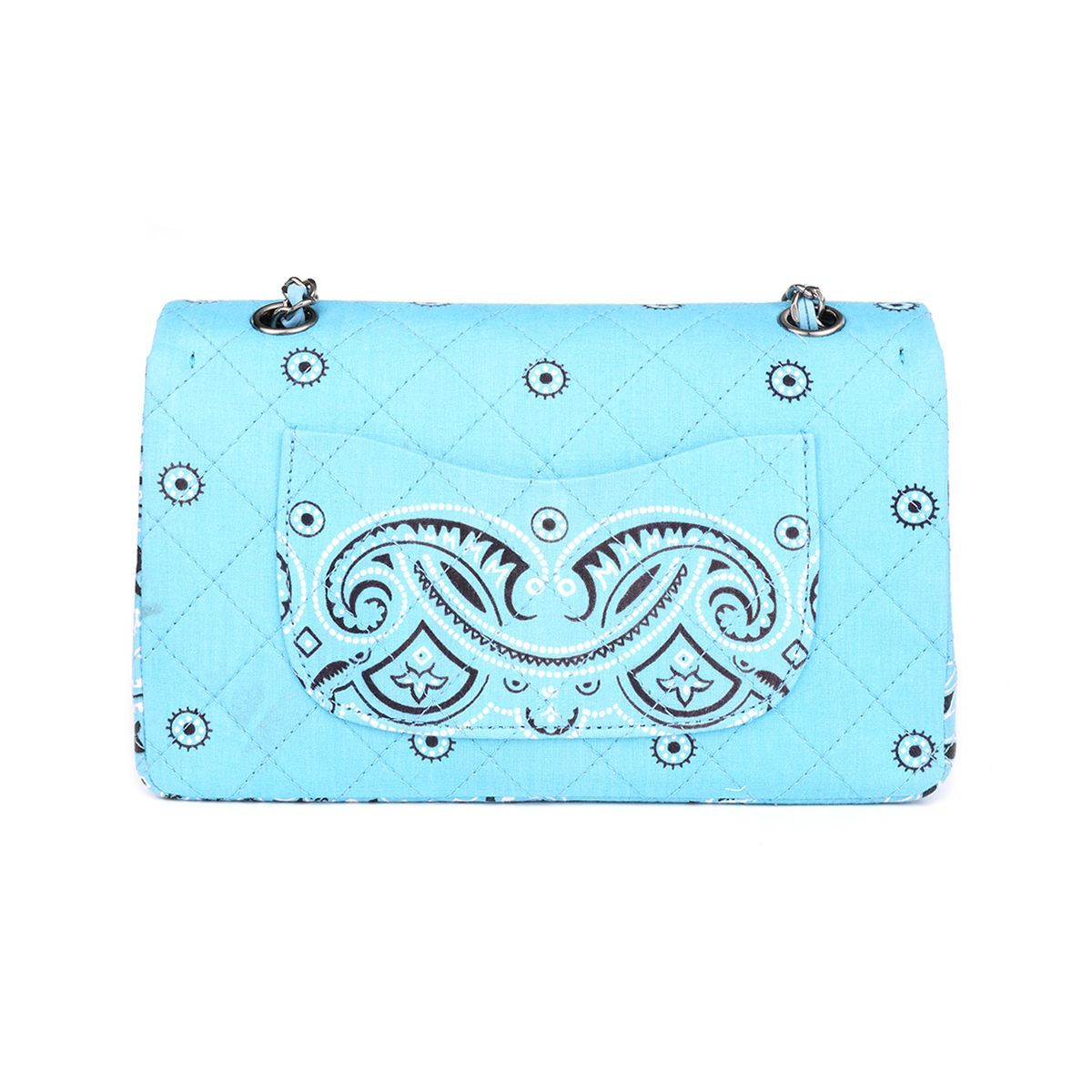 READYMADE CHAIN BAG BANDANA / ASSORT(L.BLUE)
