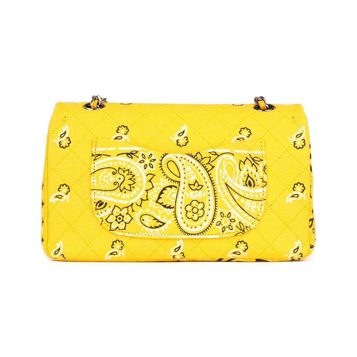 READYMADE CHAIN BAG BANDANA / ASSORT(YELLOW)