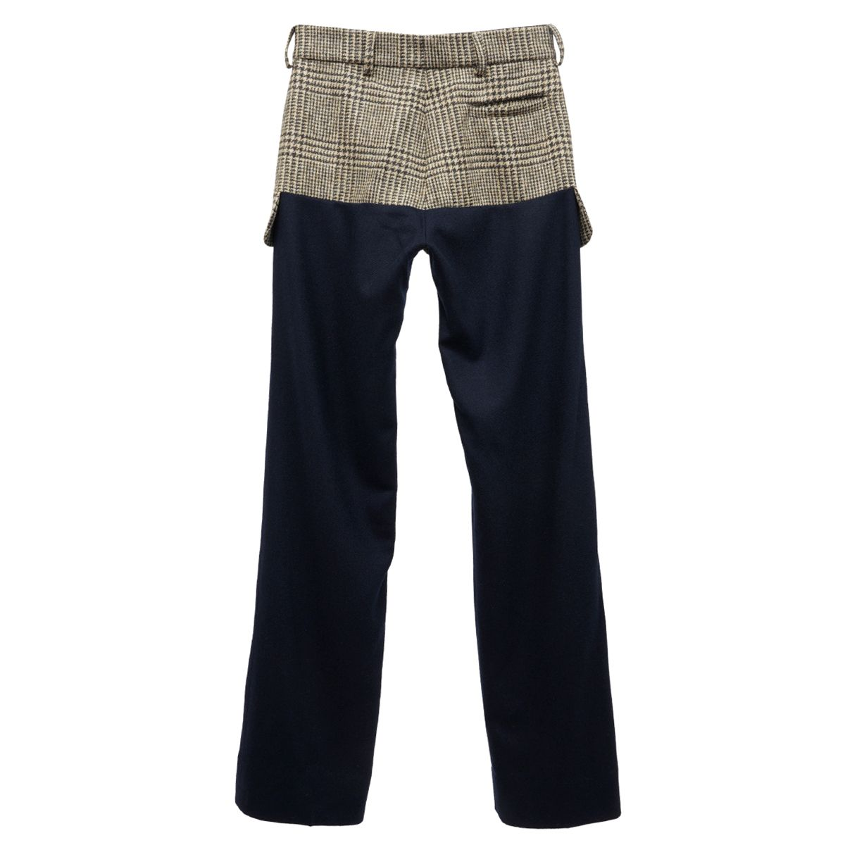 Stefan Cooke TAILORED TROUSERS / BROWN-NAVY