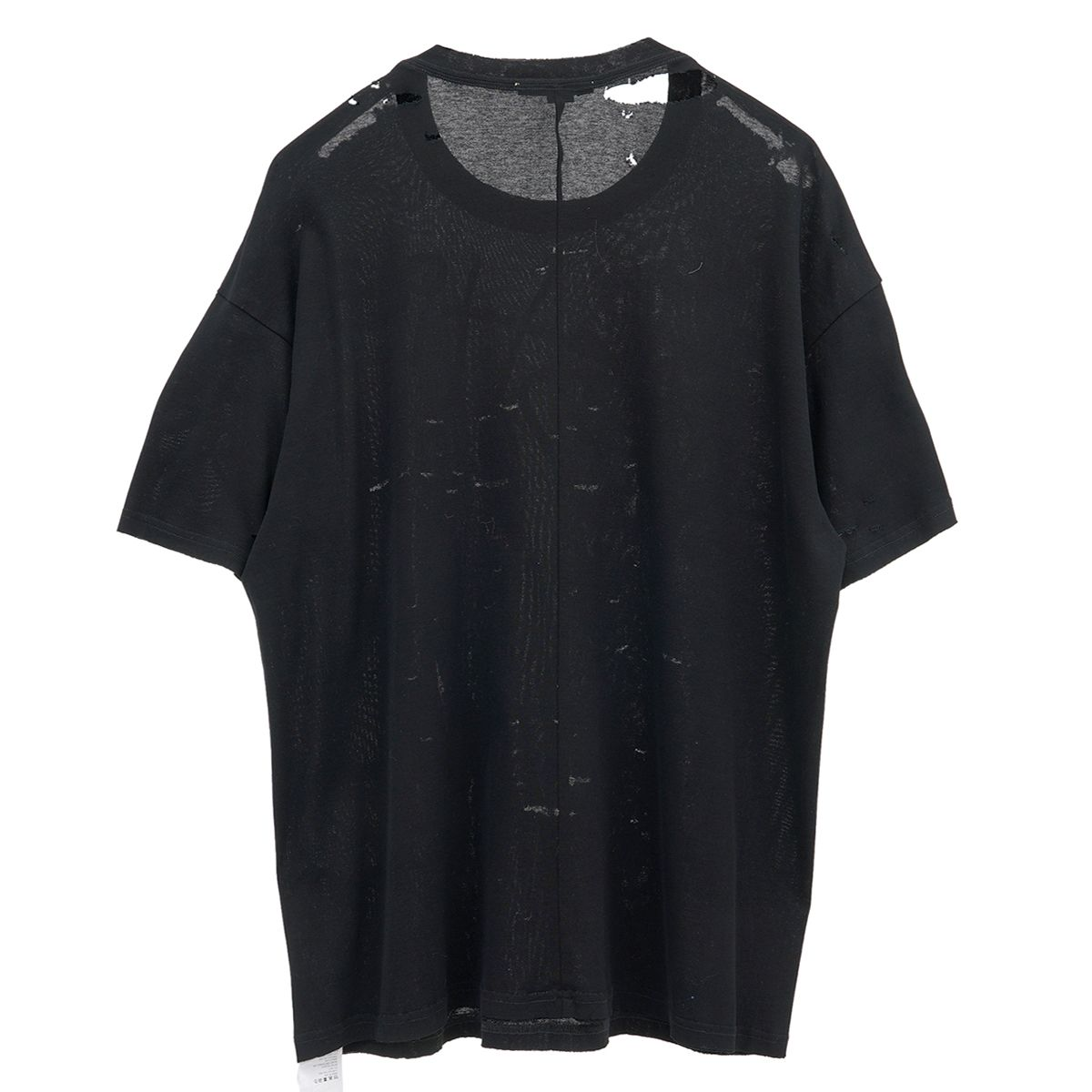 SANKUANZ SHORT SLEEVE T-SHIRT / BLACK