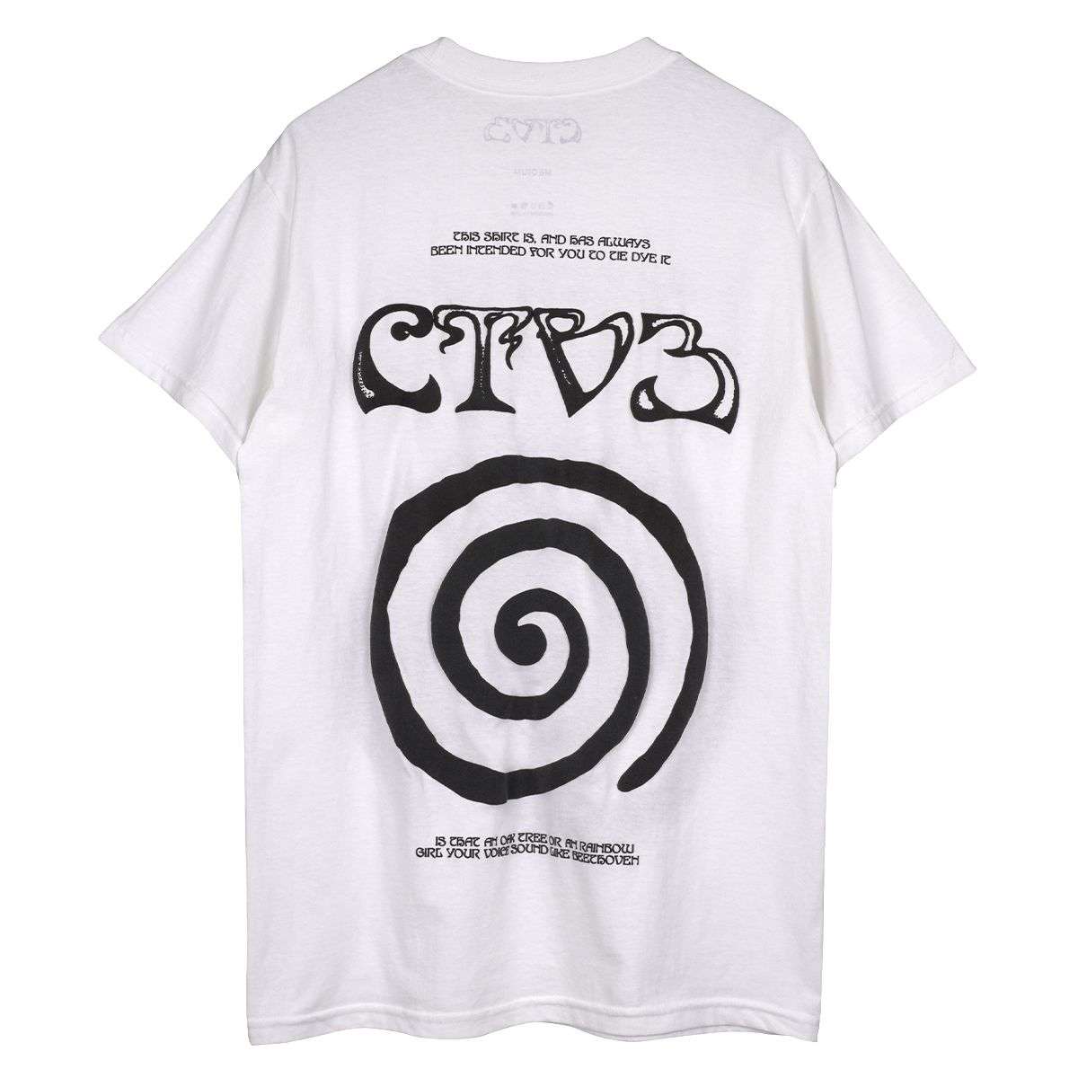 Jaden Smith CTV3 Collection CTV3 TOUR TEE / WHITE